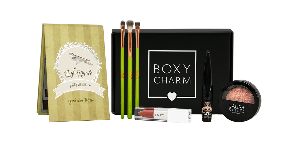 Boxycharm September 2018 full box, subscription box, full-size