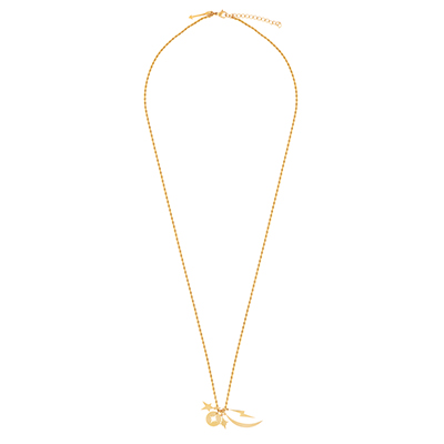 ELLIE VAIL JEWELRY Delaney Charm Necklace