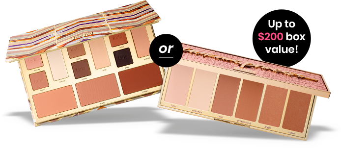 Tarte Clay Play Face Shaping Palette or Tarte Park Ave Princess™ Chisel Palette
